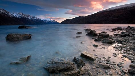 cool wallpaper new zealand nature kingstown sunrise new zealand picture nr 42341