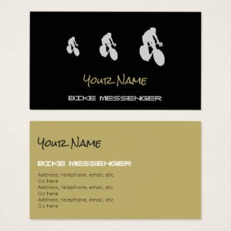 messenger card template cycling business cards and business card templates