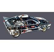 Lancia Rally 037 Evoluzione Group B 1984  Racing Cars