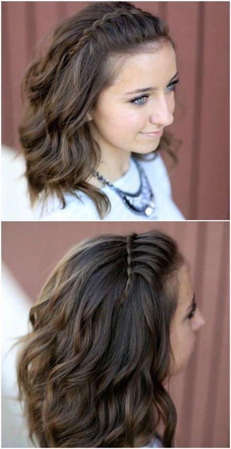 headband hairstyles for medium length hair 17 best images about medium length hairstyles curly and