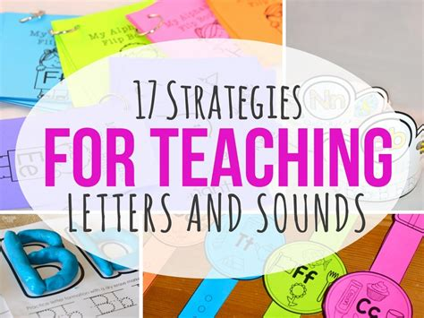 Research Based Letter Identification Strategies 17 strategies for teaching letters and sounds