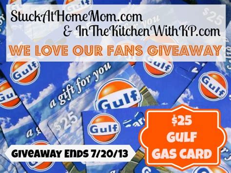 Gas Card Giveaway - friends fan and follower appreciation 25 gas card giveaway in the kitchen with kp