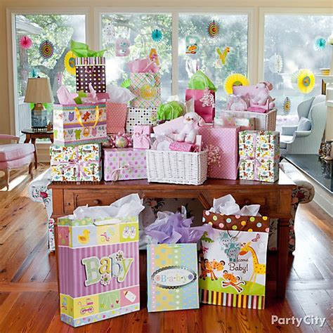 City Baby Shower Ideas by Jungle Baby Shower Gift Table Idea Jungle Animals Baby