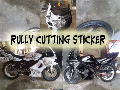 Cutting Sticker 1 Warna 1 cutting sticker rully cutting sticker r c s
