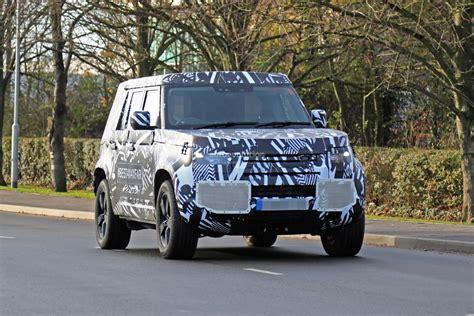 Jaguar Land Rover Defender 2020 by 2020 Land Rover Defender Spied Transitions To Unibody