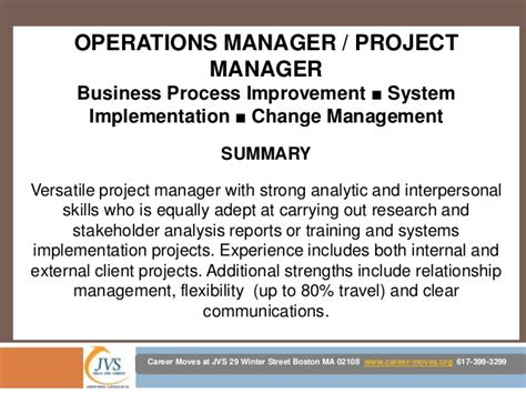 project manager skills resume maggieoneills in project management