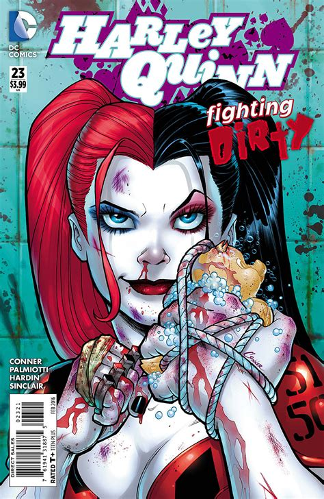 harley quinns cover gallery image harley quinn vol 2 23 cover 2 jpg batman wiki fandom powered by wikia