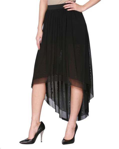 black high low skirt wishlist