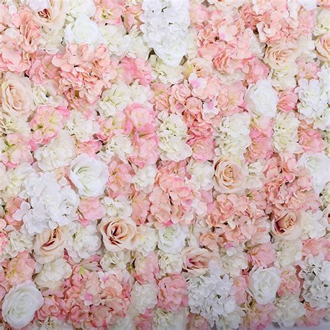 40x60cm Artificial Flower Panels Wedding Decoration Silk
