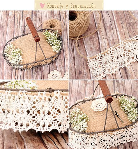 decorar cestas para bodas cestas de boda