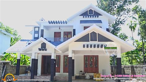 Home Plans With Photos by New House Plans For 2016 Starts Here Kerala Home Design