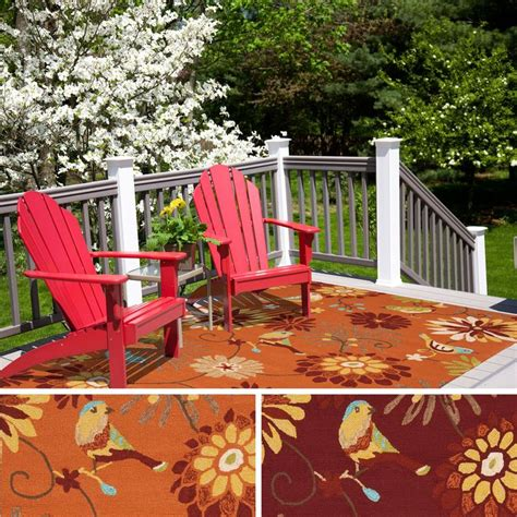 Outdoor Patio Rugs Cheap This Indoor Outdoor Rug Is The Addition For Your Patio Or Sunroom Created To Withstand