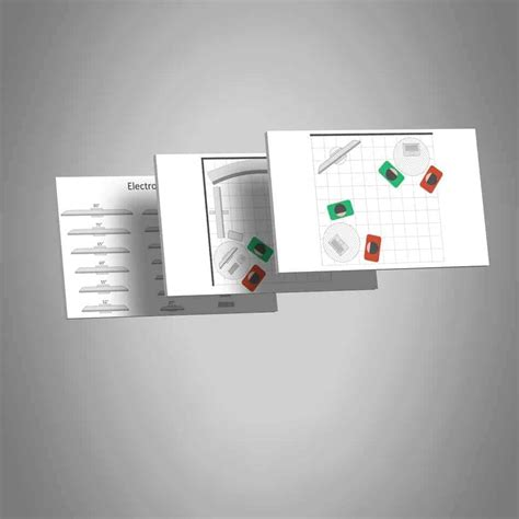 Tradeshow Booth Layout Template Create Booth Mockups In Ppt Layout Template