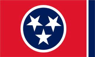 tennessee colors the tennessee state flag
