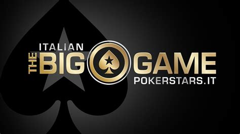 the big game pokerstars tv 2015 the italian big game saint vincent cash game live a