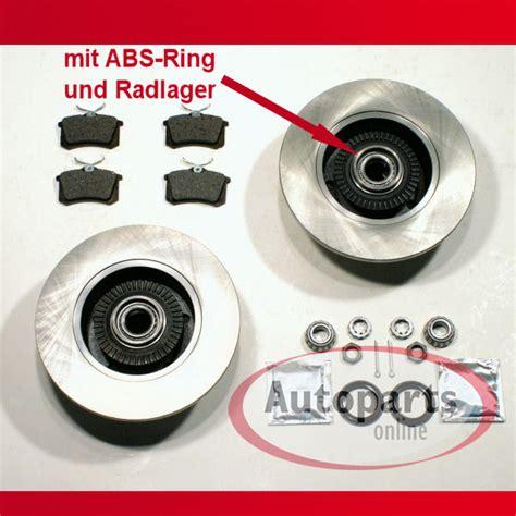 Audi A4 Bremsen by Audi A4 B5 Bremsscheiben Bremsen Montierte Abs Ringe