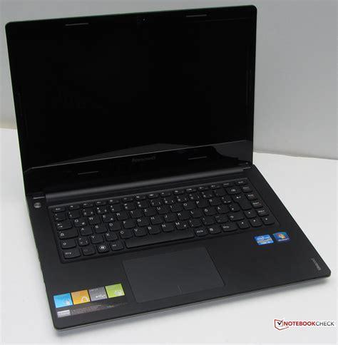 review lenovo ideapad s400 notebook notebookcheck net reviews