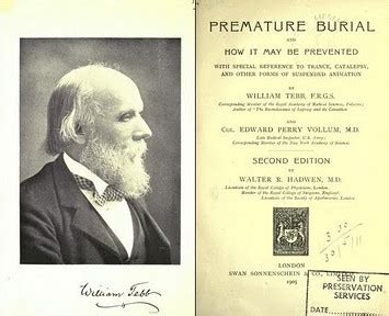 premature burial and how it may be prevented with special reference to trance catalepsy and other forms of suspended animation classic reprint books william tebb e l alba dei movimenti anti vaccinazione
