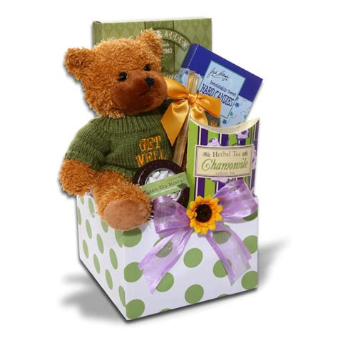 feel better soon gift box all about gifts baskets