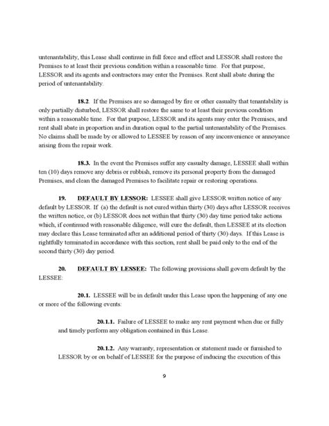 Sle Letter Termination Of Month To Month Lease free missouri commercial lease agreement 28 images