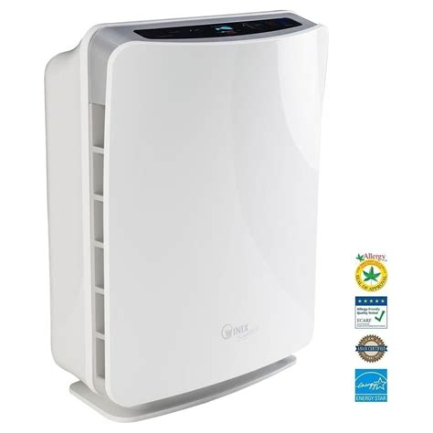 winix u450 true hepa air purifier with air quality monitor