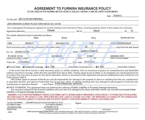 insurance agreement template usaa auto quote quotes of the day