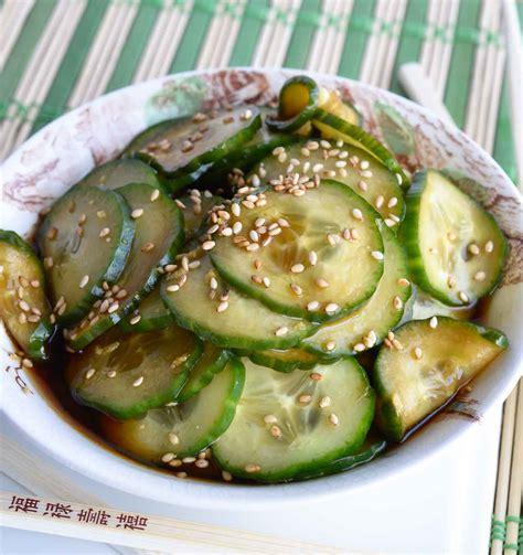 cucumber recipe quick and easy cucumber salad