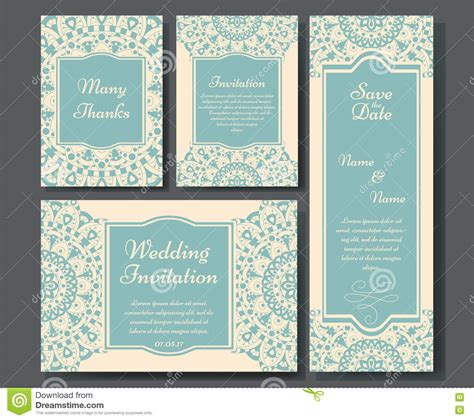 Arabic Wedding Card Templates by Wedding Card Collection With Mandala Template Of