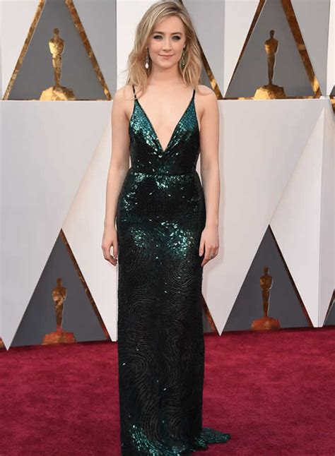 saoirse ronan underwhelms in sequins top 5 fashion trends from the red carpet