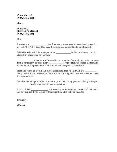 Personal Reference Letter For Coworker 25 Best Ideas About Reference Letter On Real