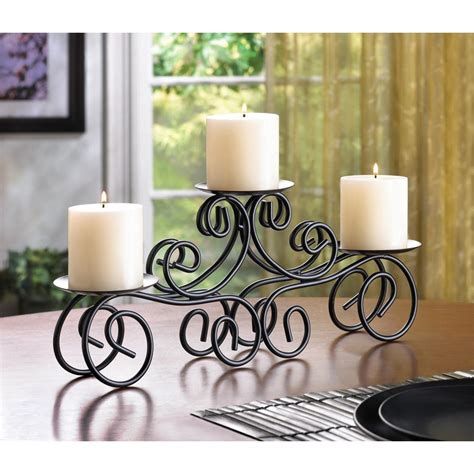 iron candle holders centerpieces tuscan candle centerpiece wholesale at koehler home decor