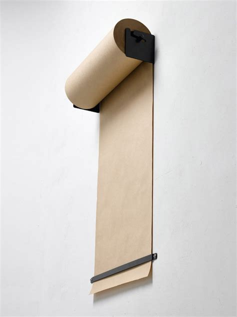 Craft Paper Dispenser - cool wall mounted kraft paper dispenser improvised
