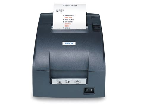 Printer Epson Tmu 220d Usb Manual epson tm u220 receipt printer posguys