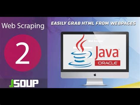 tutorial on web scraping tutorial 2 jsoup web scraping data with java exle 1 of
