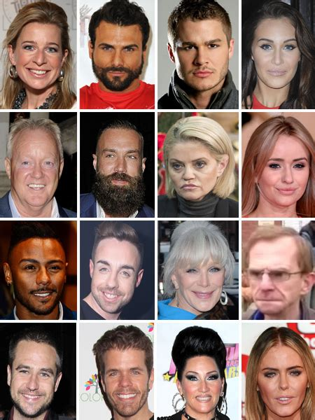 whos on celeb bb celebrity big brother 2015 line up all the rumoured