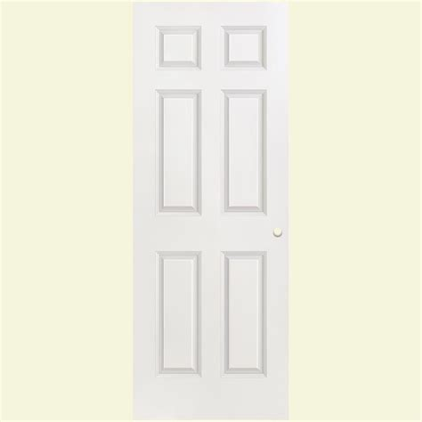 Masonite 30 In X 80 In Solidoor 6 Panel Textured Solid Masonite Doors Interior