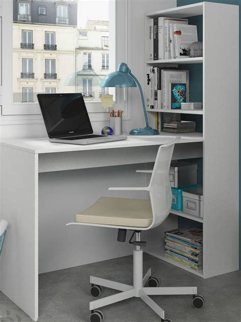 white bookcase with storage corner computer desk white study table bookcase storage