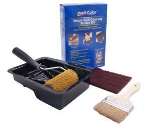 bed liner roller duplicolor trg103 truck bed coating roller kit includes