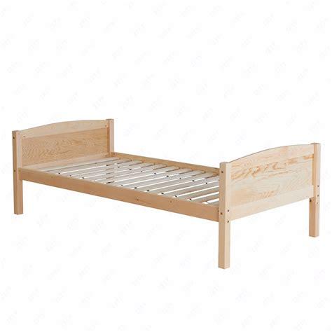 Pine Wood Bed Frame 3ft Solid Pine Wood Single Bunk Bed Frame Splits Into 2 Single Beds