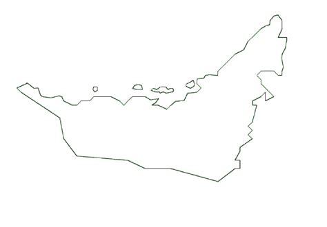 printable area traduccion map of united arab emirates terrain area and outline