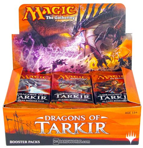 Magic The Gathering Booster Pack Dragons Of Tarkir magic the gathering dragons of tarkir booster box da