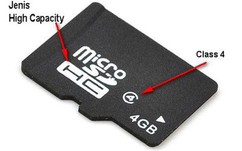 Memory Card 4gb Untuk Hp tips membeli memilih memory card untuk smartphone android