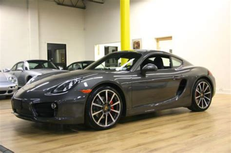 Porsche Cayman Manual Transmission by Sell New 2014 Porsche Cayman Quot S Quot Manual Transmission 20