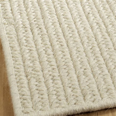 sustainable rugs eco friendly solid braided wool rugs shades of light