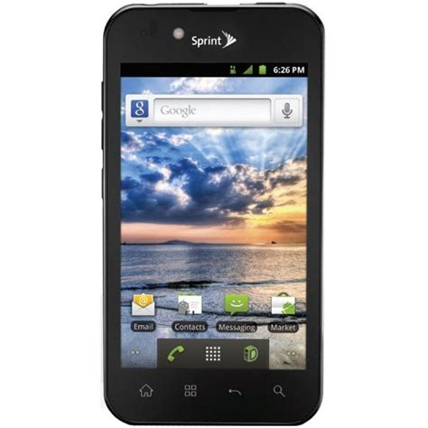 lg marquee ls855 excellent used sprint android smartphone