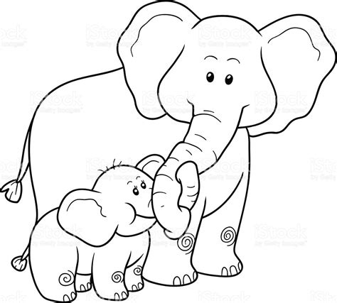 Color Of Elephants by Impressive Pictures Of Elephants To Color 10 3511