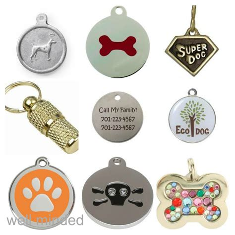 what to put on tag what not to put on your s i d tag well minded pets