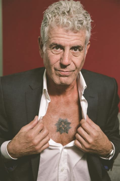 anthony bourdain tattoo yes anthony bourdain really is that cool a