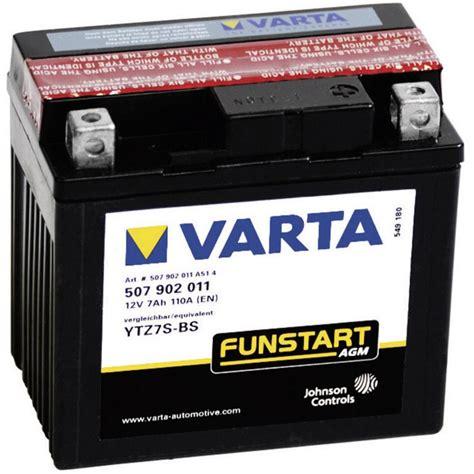 Motorradbatterie Regensburg by Motorradbatterie Varta Ytz7s 4 Ytz7s Bs 12 V 5 Ah Etn