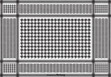 arab keffiyeh pattern free vector black keffiyeh pattern download free vector